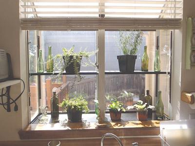 Greenhouse Window Over Kitchen Sink