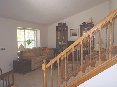 Family room at 376 Eisenhower Drive